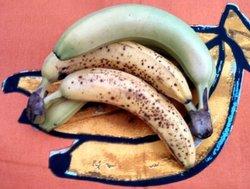 Ayez la forme avec la banane !
