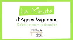 la minute d'Agnès Mignonac