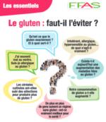 Le gluten : faut-il l'éviter ?