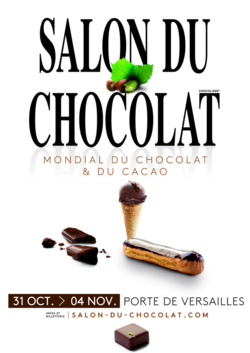 Le salon mondial du chocolat 2018
