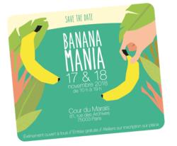 BananaMania les 17 et 18 Novembre