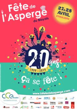 Participez à la fête de l'asperge les 28 et 29 avril 2019