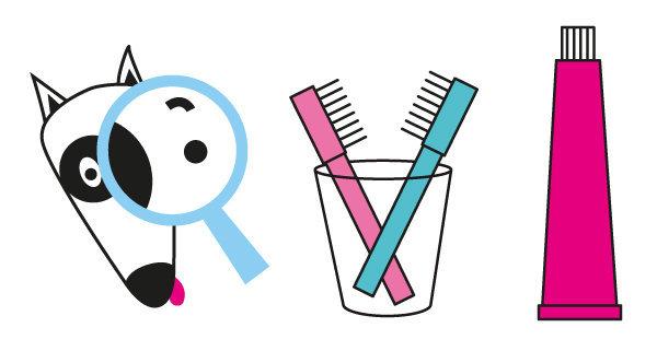 Jeu des 7 erreurs n°04 - le lavage des dents