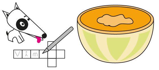 Mots croisés n°14 - les aliments du mois de Mai