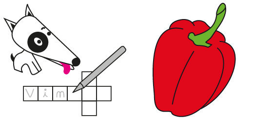 Mots croisés n°16 - les aliments du mois d'Août N°2