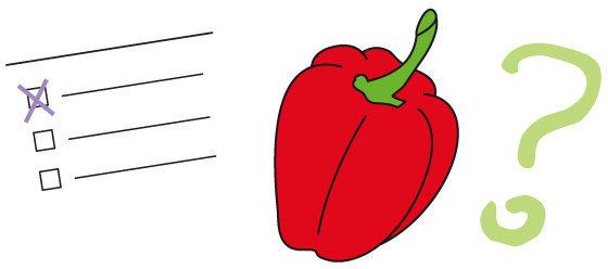 Quiz n°27 - le poivron