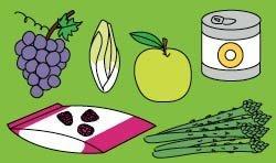 La famille des fruits et légumes