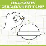 Les 40 gestes de base d'un petit Chef