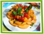 Brochettes de melon au jambon cru