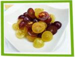 Duo de raisins, miel et noix