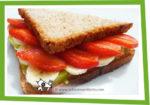 Sandwich façon Tarte aux fruits