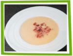 Crème d'endives au jambon et parmesan
