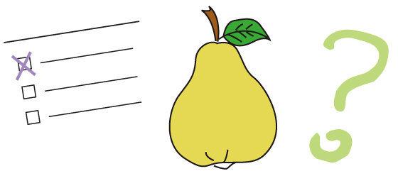 Quiz n°09 - la poire