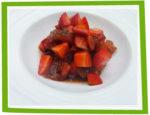 Salade de fraises et tomates